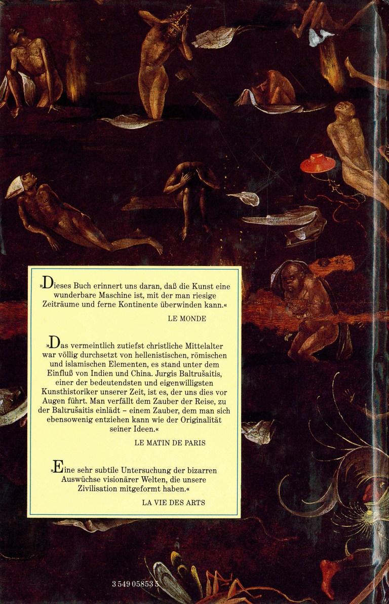Das phantastische Mittelalter - Rückencover