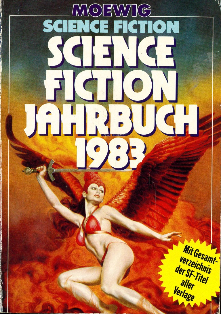 Science Fiction Jahrbuch 1983 - Titelcover