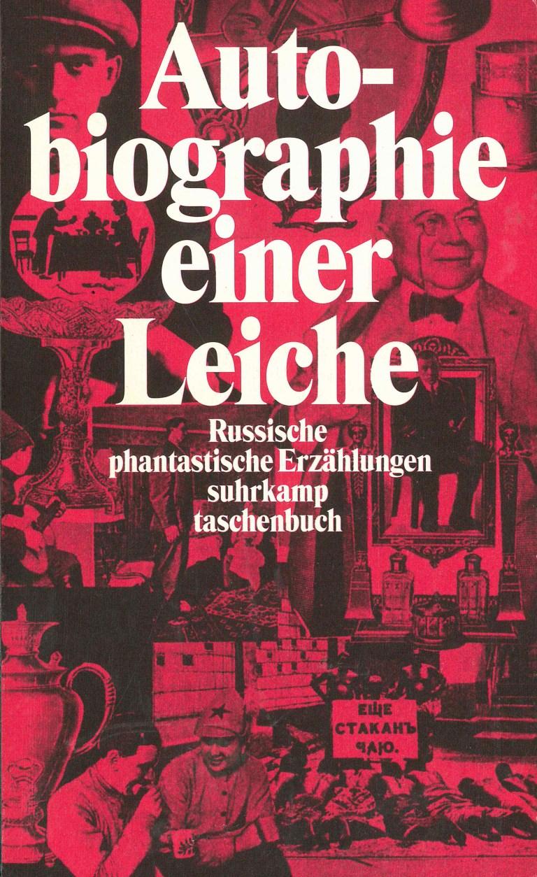 Autobiographie einer Leiche - Titelcover