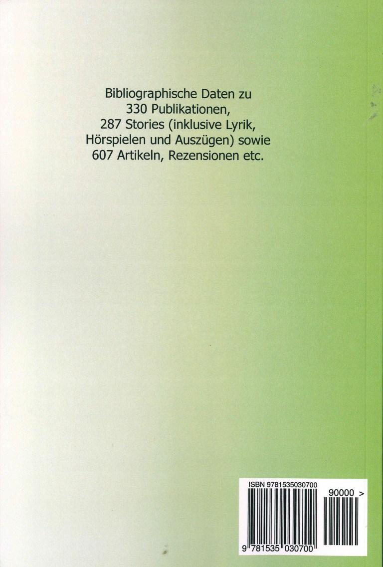 Bibliographie der deuschsprachigen Science Fiction und Fantasy 1962 - Rückencover