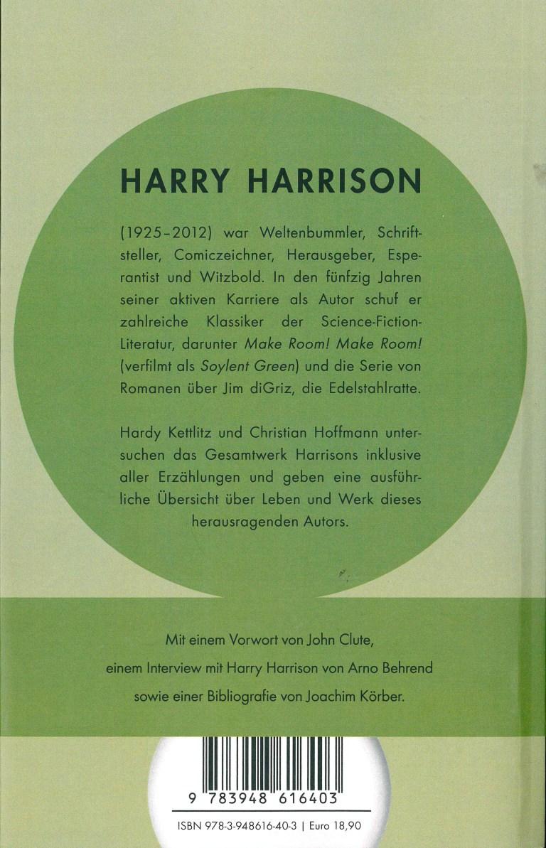 Harry Harrison - Rückencover