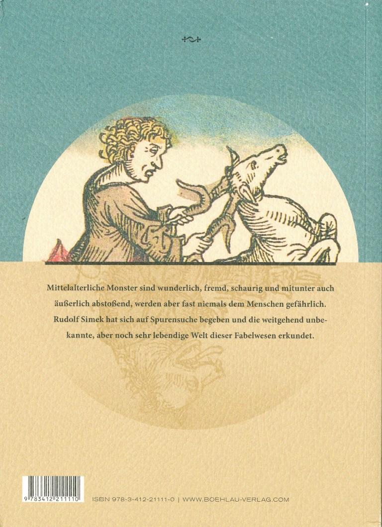 Monster im Mittelalter - Rückencover
