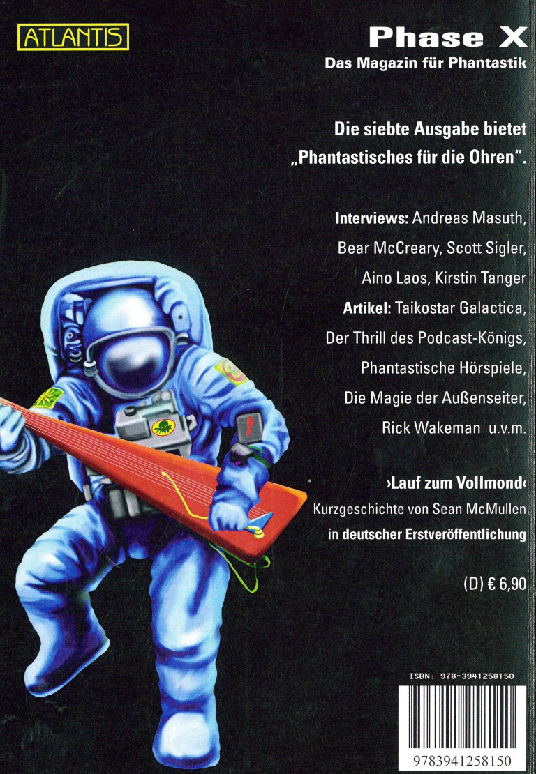 Phase X, Nr. 7 - Titelcover