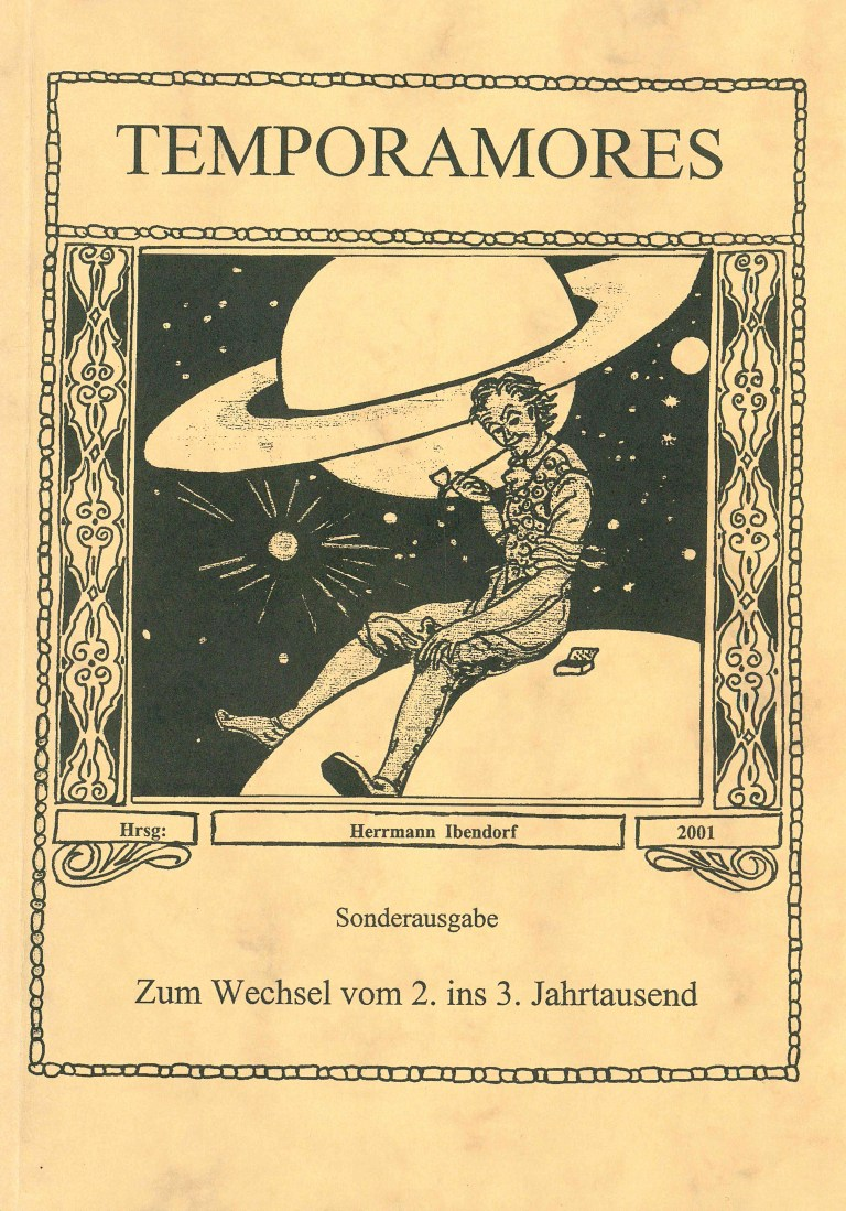 Temporamores, Sonderausgabe 2001 - Titelcover