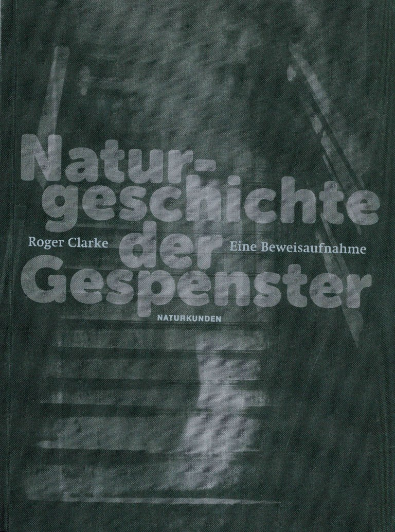 Naturgeschichte der Gespenster - Titelcover