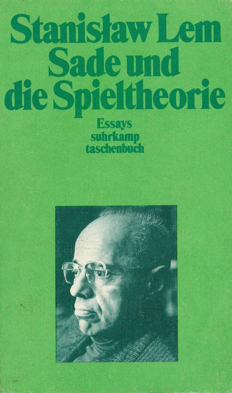 Sade und die Spieltheorie - Titelcover