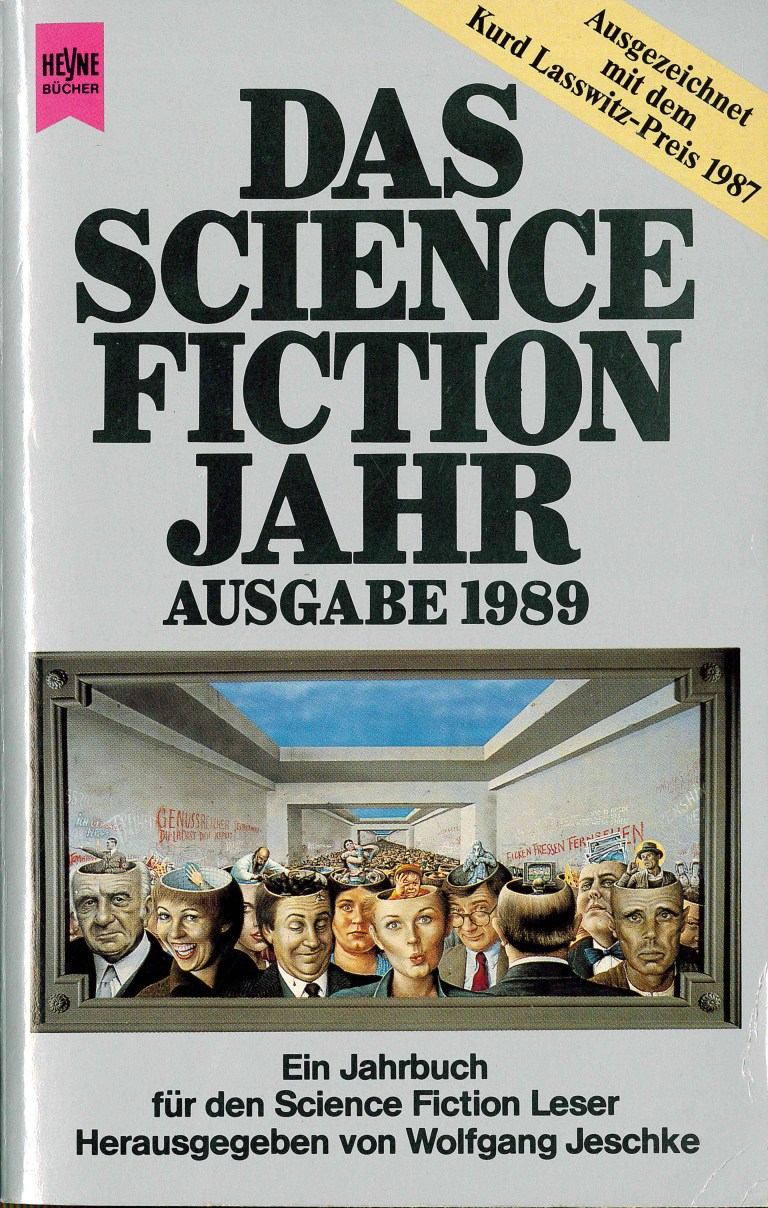 Science Fiction Jahr 1989 - Titelcover