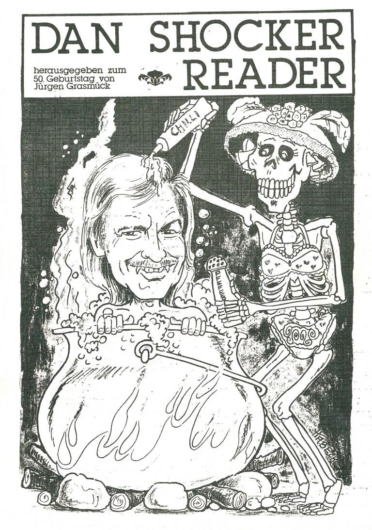 Dan Shocker Reader - Titelcover