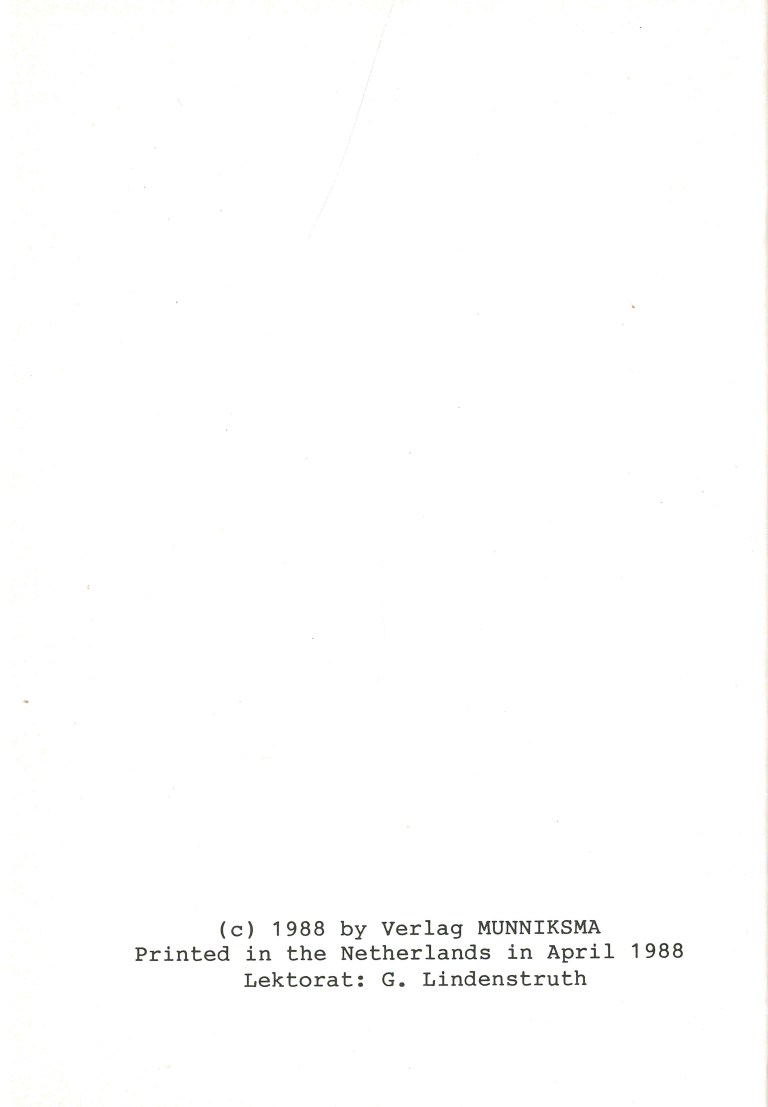 Robert Kraft Bibliographie - Impressum
