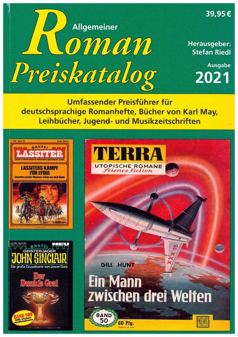 Allgemeiner Roman Preiskatalog 2021 - Titelcover