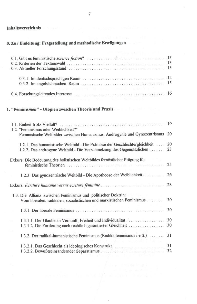 Die maskierte Utopie - Inhalt Seite 1