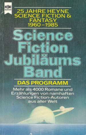 Science Fiction Jubiläumband - Titelcover