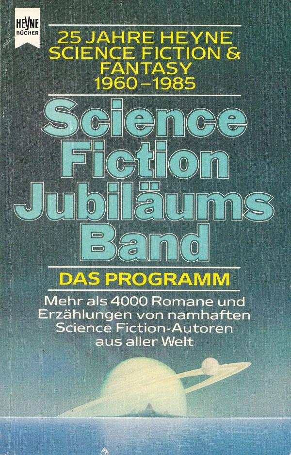 Science Fiction Jubiläumband - Titelcover