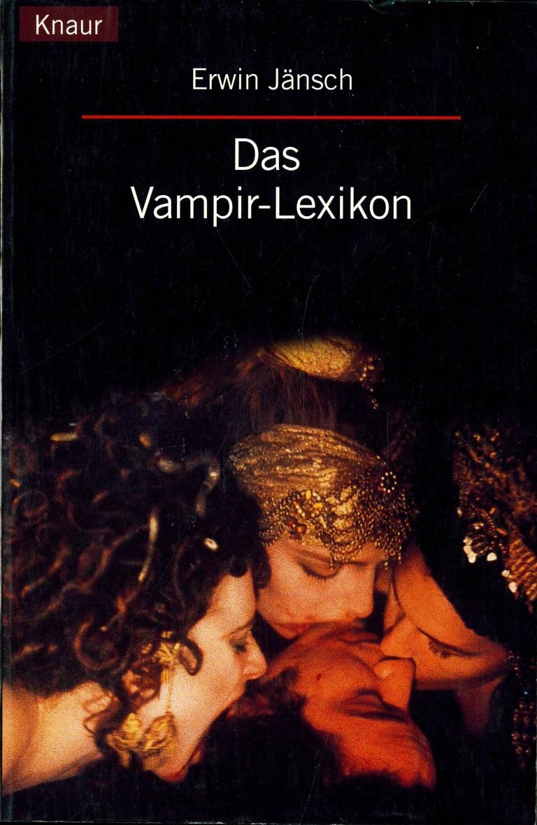 Das Vampir-Lexikon - Titelcover