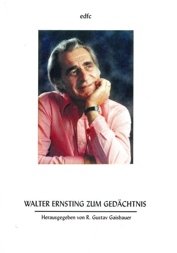 Walter Ernsting zum Gedächtnis - Titelcover
