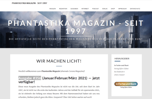 Phantastika Magazin - 2021-04-03