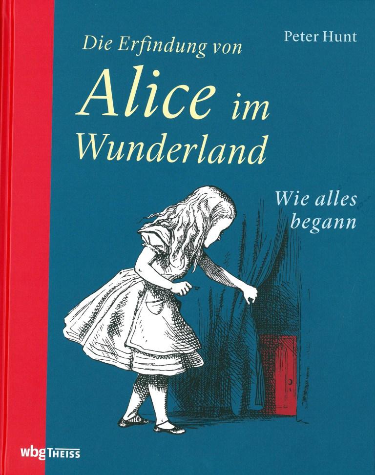 Die Erfindung von Alice im Wunderland - Titelcover