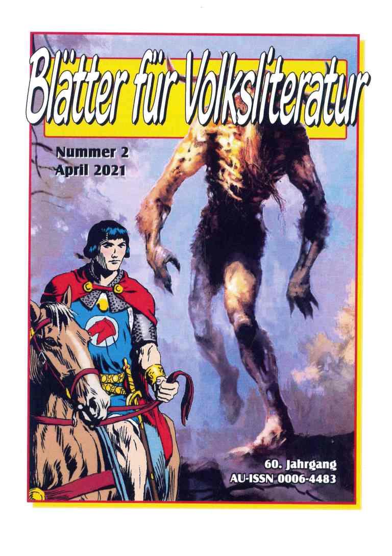 Blätter für Volksliteratur, 2021/2 - Titelcover