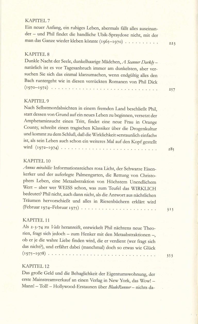 P.K.Dick Göttliche Überfälle - Inhalt Seite 2