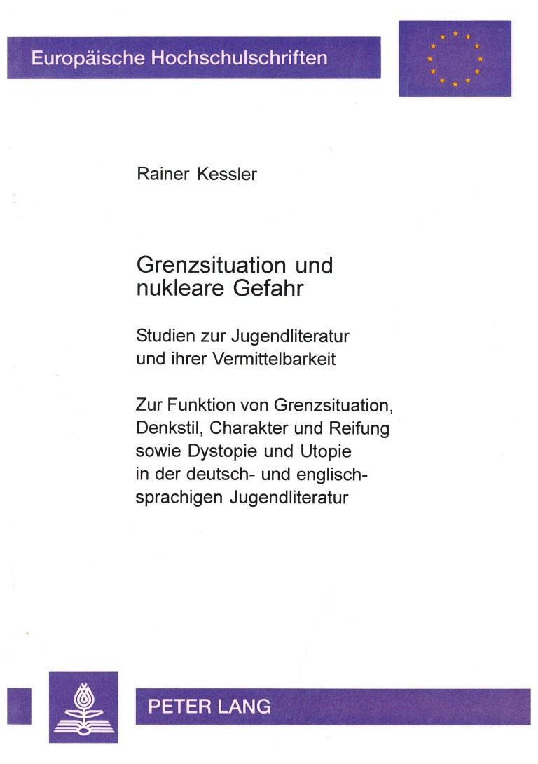 Grenzsituation und nukleare Gefahr - Titelcover