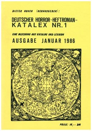 Katalex Nr. 1 - Titelcover