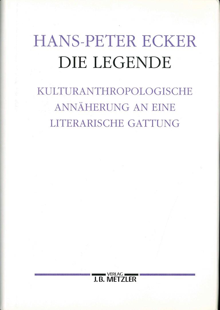Die Legende - Titelcover