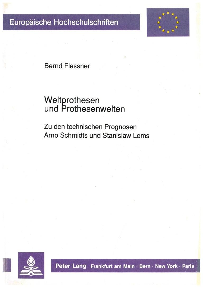 Weltprothesen und Prothesenwelten - Titelcover