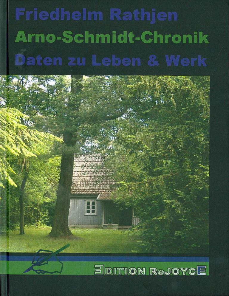 Arno-Schmidt-Cronik - Titelcover