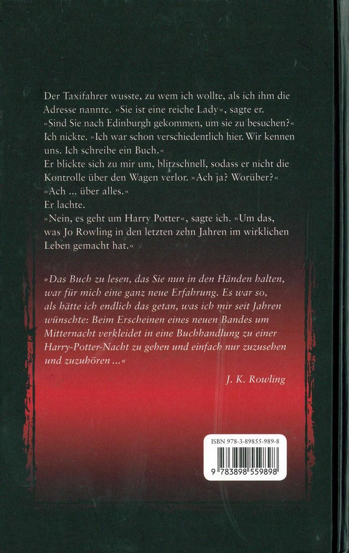 Das Phänomen Harry Potter - Rückencover