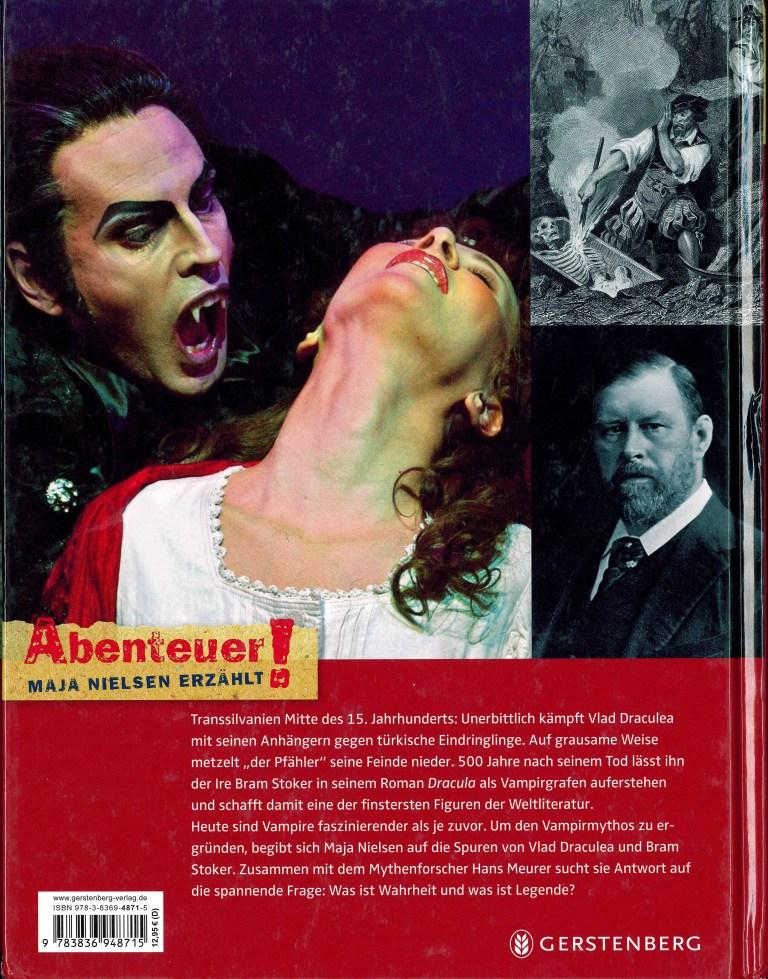 Vampire-Die wahre Geschichte - Rückencover