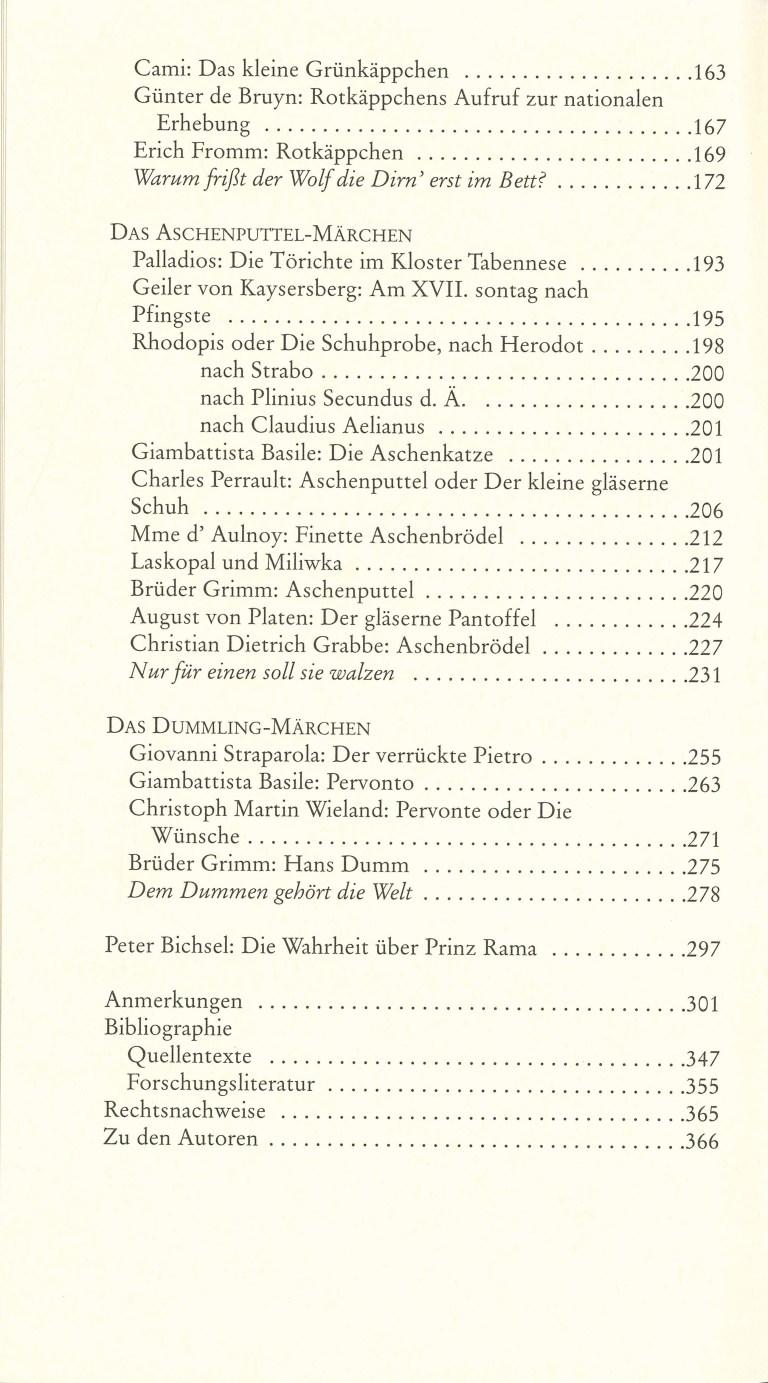 Wie Dornröschen seine Unschuld gewann - Inhalt Seite 2