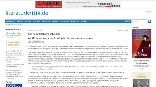 literaturkritik.de - 2021-07-24