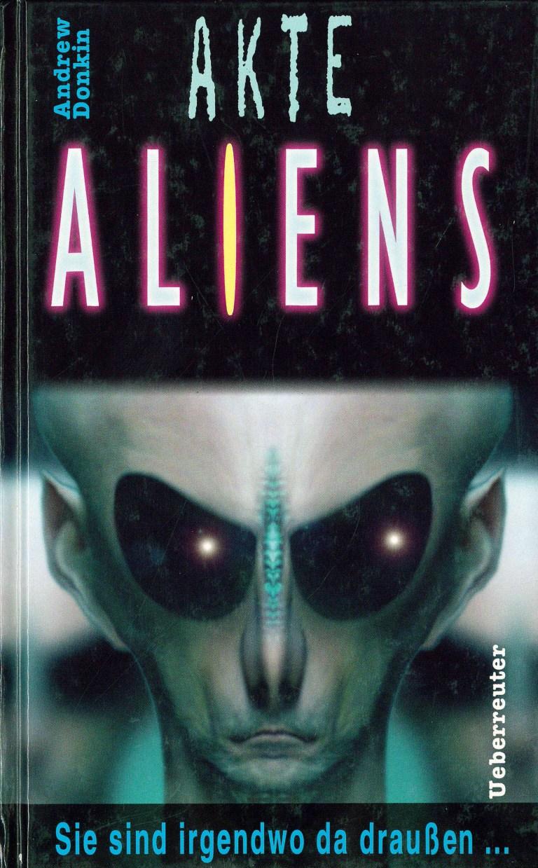 Akte Aliens - Titelcover