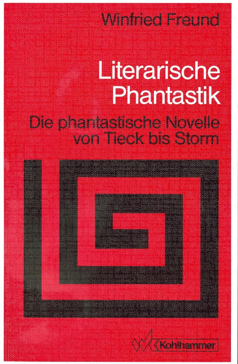 Literarische Phantastik - Titelcover