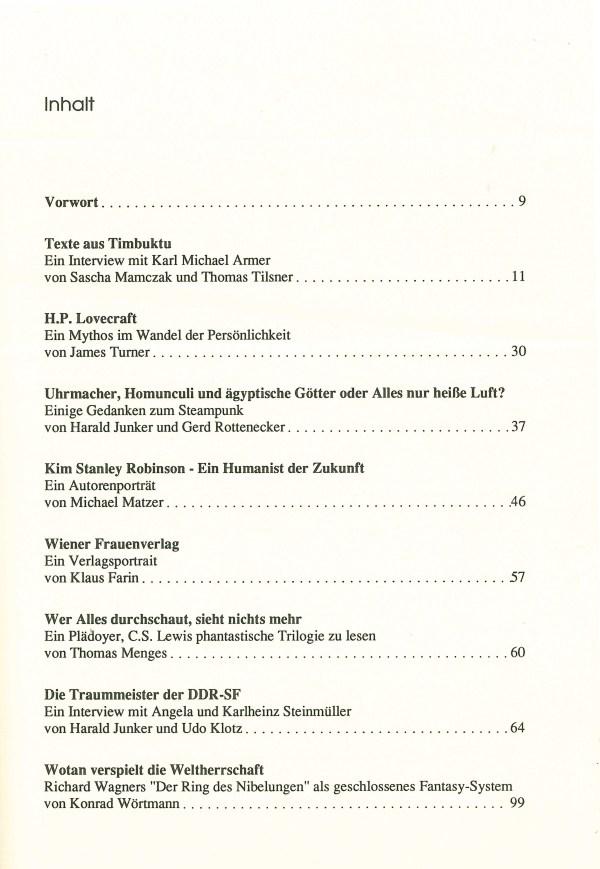 Golen 2, 1990 - Inhalt Seite 1