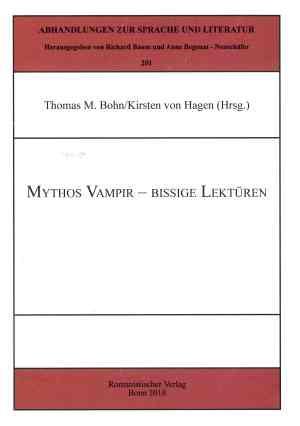 Mythos Vampir-bissige Lektüren - Titelcover