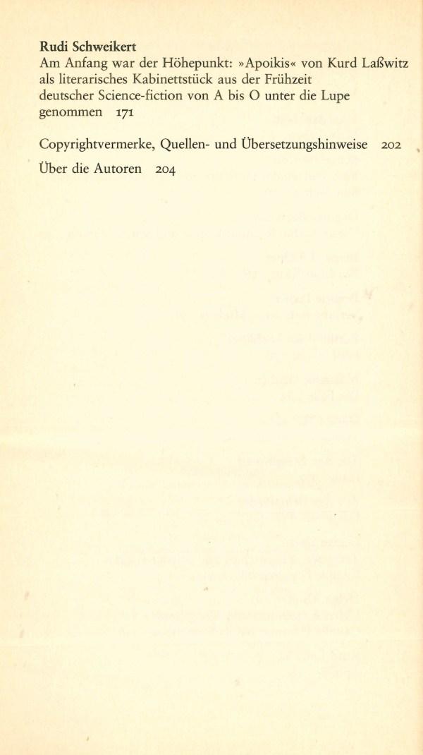 Polaris 8 - Inhalt Seite 2