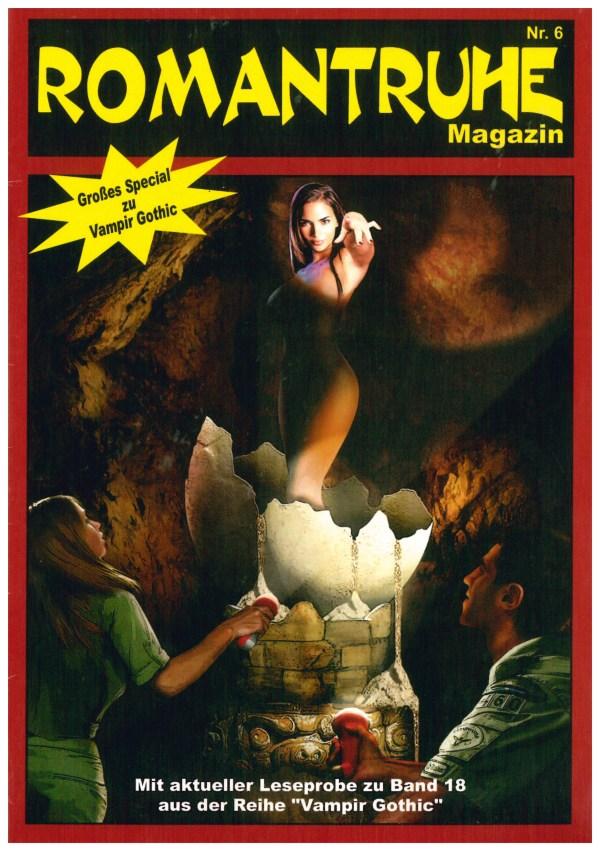 Romantruhe-Magazin, Nr. 6 - Titelcover
