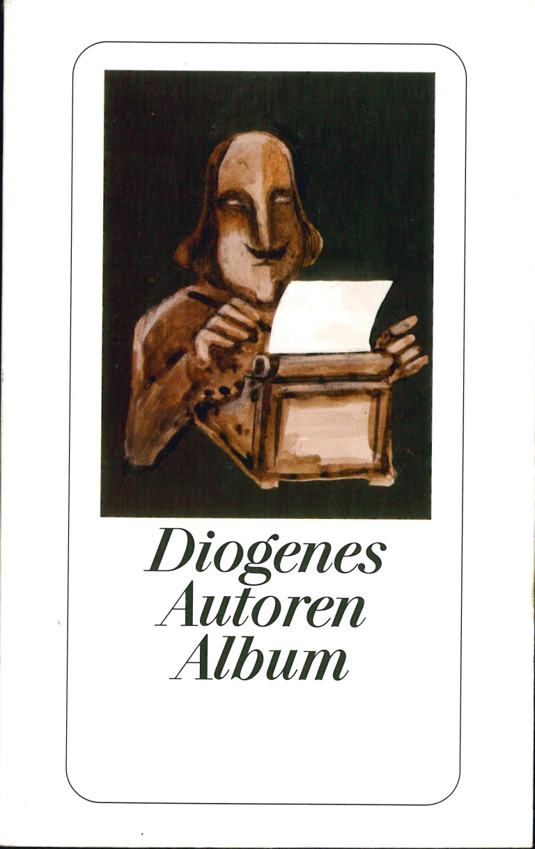 Diogenes Autoren Album - Titelcover