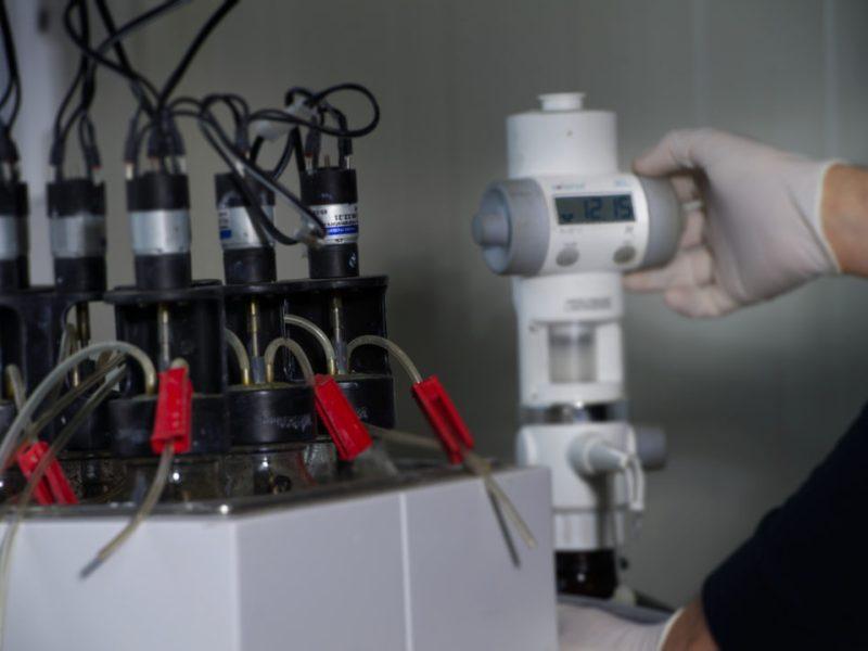 Laboratório de Biogás em tempo real