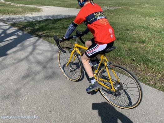 Kinderrennrad Bianchi 22 Zoll