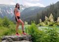 Christelle Girard en trail