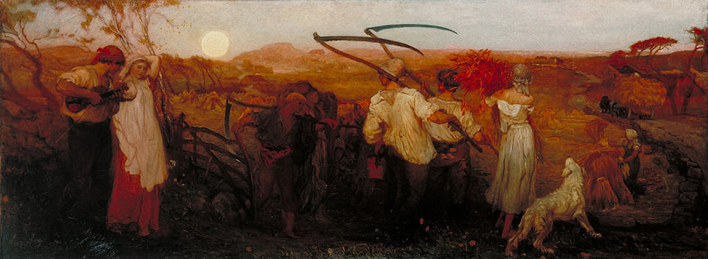 George Mason, The Harvest Moon, Public Domain