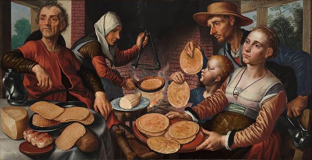 Pieter Aertsen, The Pancake Bakery