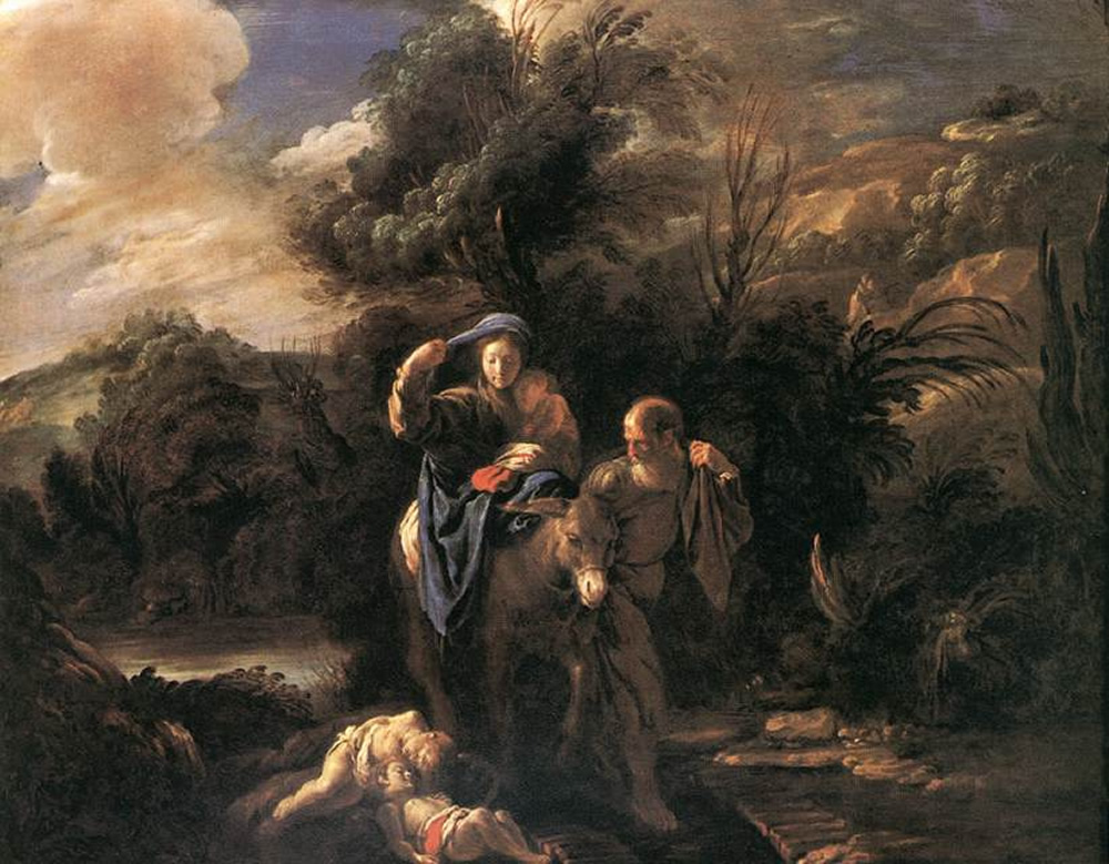 Domenico Fetti, The Flight into Egypt