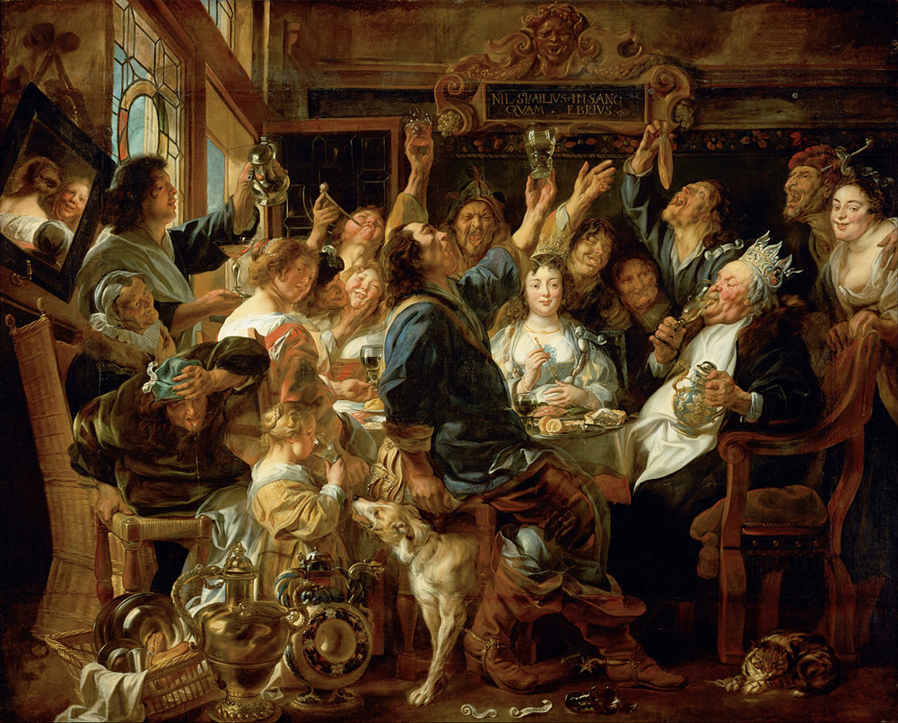 Jacob Jordaens, The Feast of the Bean King