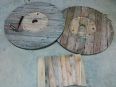 Comment customiser un touret en table basse By sebricole (1)