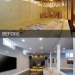 Sidd Nisha S Basement Before After Pictures Home Remodeling Contractors Sebring Design Build