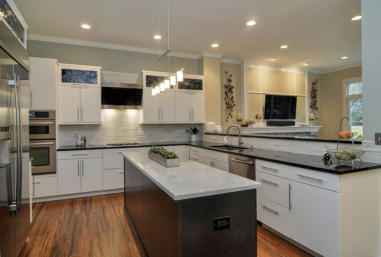Doug & Natalie's Kitchen Remodel Pictures | Home ... on Kitchen Remodeling Ideas  id=43773