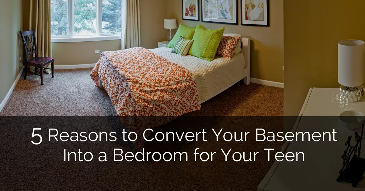 5 Reasons to Convert Your Basement Into a Bedroom for Your ... on Teenager Basement Bedroom  id=85028